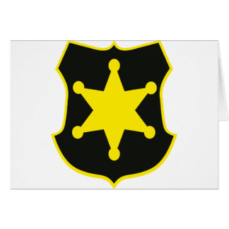 sheriff card