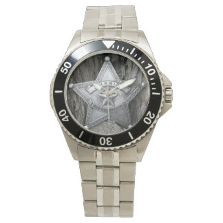 Sheriff-Classic Stainless Steel Watch