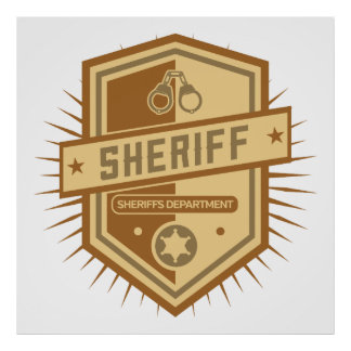 Sheriff Crest Poster