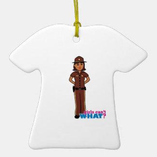 Sheriff - Dark Ornament
