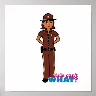 Sheriff - Dark Print