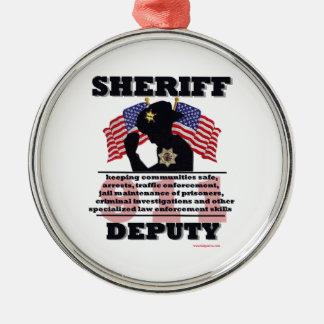 Sheriff_Deputy Ornaments
