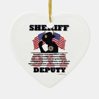 Sheriff_Deputy Christmas Ornament