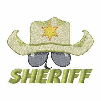 Sheriff Embroidered Hoody
