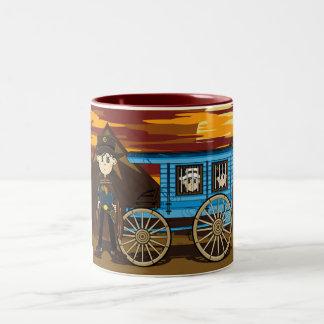 Sheriff  & Jail Wagon Mug