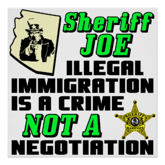 SHERIFF JOE POSTER