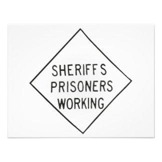 Sheriff s Prisoner Custom Invites