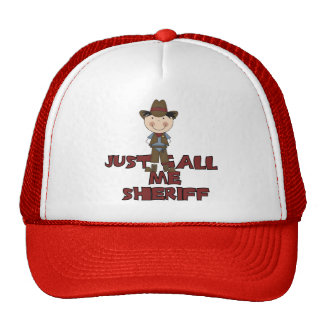 Sheriff Tshirts and Gifts Cap