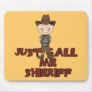 Sheriff Tshirts and Gifts Mousepads