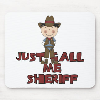Sheriff Tshirts and Gifts Mouse Pads