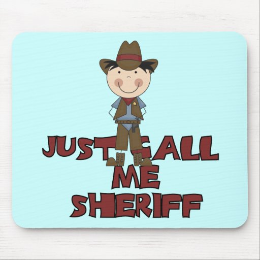 Sheriff Tshirts and Gifts Mousepad