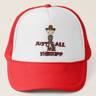 Sheriff Tshirts and Gifts Trucker Hat