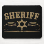 Sheriff Western Style Mouse Mats