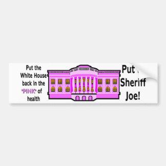 sheriffjoepinkJ.jgp Bumper Sticker