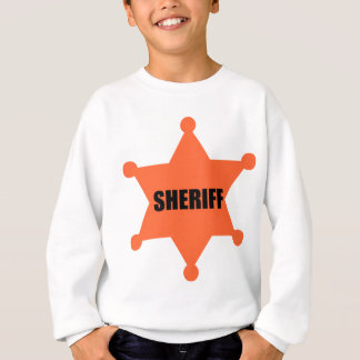 Sheriff's Badge Sweatshirt