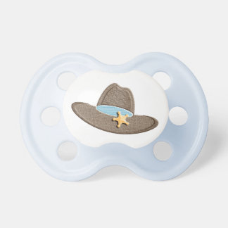 Sheriff's Blue Cowboy Hat Pacifier