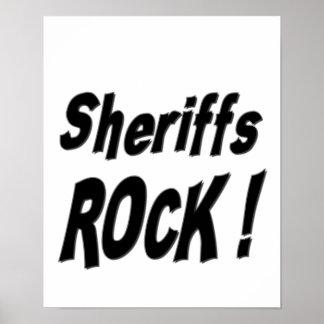 Sheriffs Rock! Poster Print