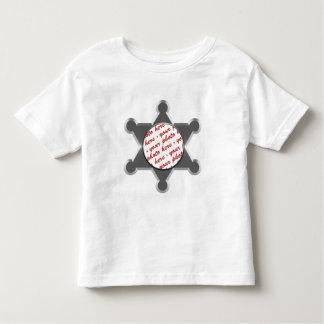 Sheriff's Tin Star Photo Frame Template T Shirt