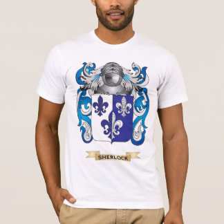 Sherlock Coat of Arms (Family Crest) T-Shirt