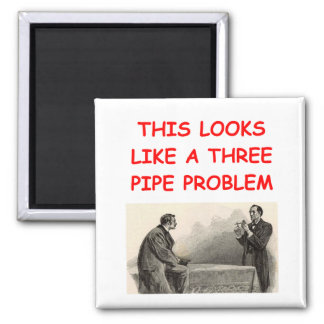 SHERLOCK holmes gifts t-shirts Square Magnet