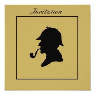 SHERLOCK HOLMES INVITATION CARD