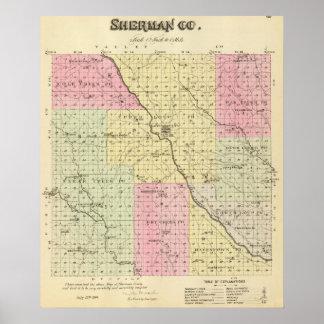 Sherman County, Nebraska Poster