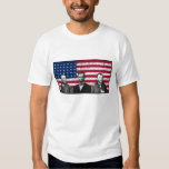 Sherman, Lincoln, and Grant with Black Border Tee Shirt