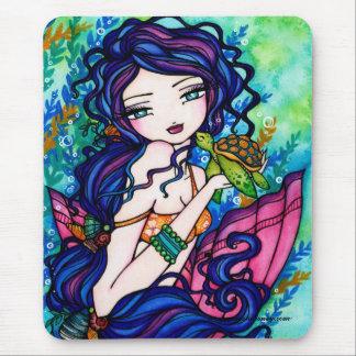 """Sherriella"" Mermaid Fantasy Fairy Turtle Mouse Mat"