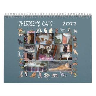 SHERRIEY'S CATS CALENDAR