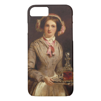 'Sherry Sir?', 1853 (oil on canvas) iPhone 8/7 Case