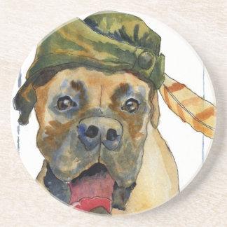 Sherwood Boxer Dog Drink Coasters