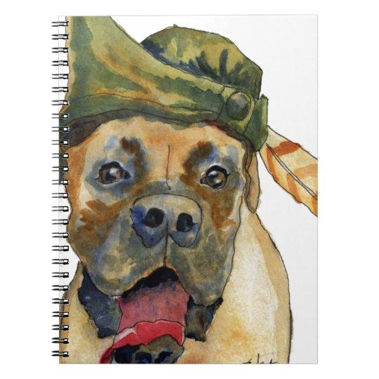 Sherwood Boxer Dog Notebooks