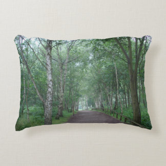 Sherwood Forest Path Pillow