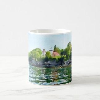 Sherwood Point Door County Watercolor Coffee Mug