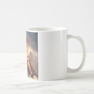 She's a Starlet Pin Up Girl Basic White Mug