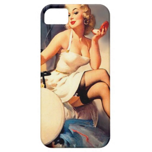 She's a Starlet Pin Up Girl Case For iPhone 5/5S