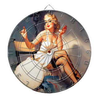 She's a Starlet Pin Up Girl Dart Boards