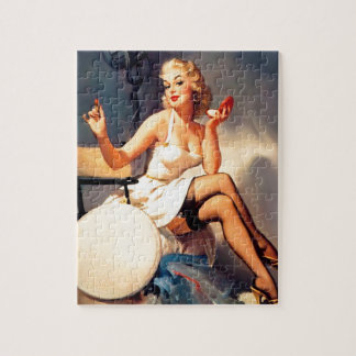 She's a Starlet Pin Up Girl Jigsaw Puzzle