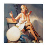 She's a Starlet Pin Up Girl Tiles