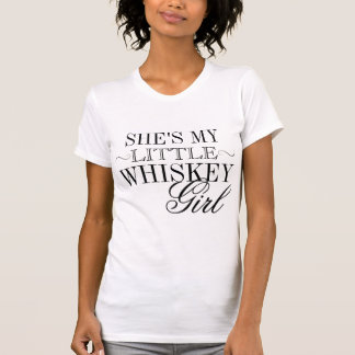 She's My Little Whiskey Girl Fitted Racerback Tank