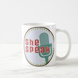 SheSpeak Coffee Mug
