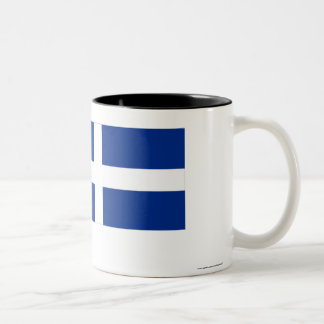 Shetland Flag Two-Tone Coffee Mug