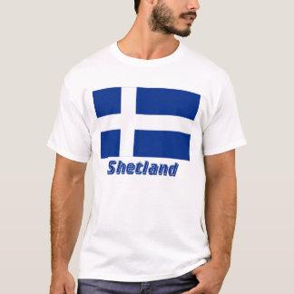 Shetland Flag with Name T-Shirt