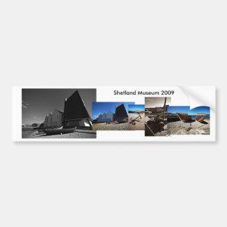 Shetland Museum Bumper Sticker