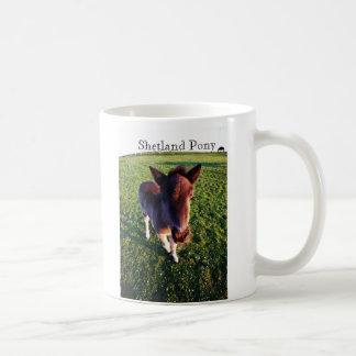 Shetland Pony Basic White Mug
