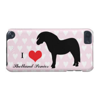 Shetland pony black silhouette ipod touch 5G case