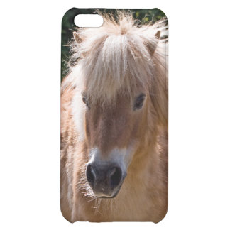 Shetland pony cute iphone 5c case, gift idea