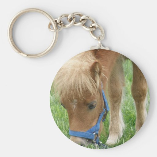 Shetland Pony Keychain