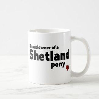 Shetland pony mug