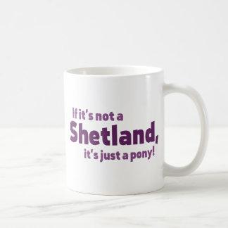 Shetland pony mugs